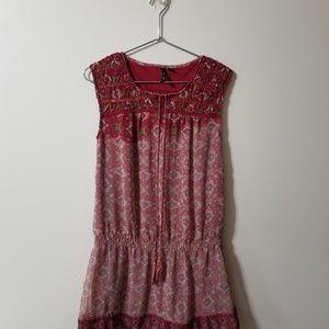 MNG Suit Mango - boho hippie dress